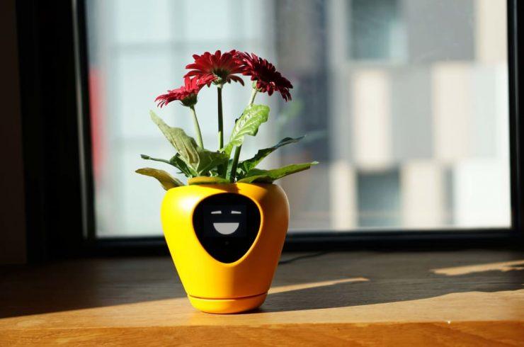 inteligentný kvetináč
