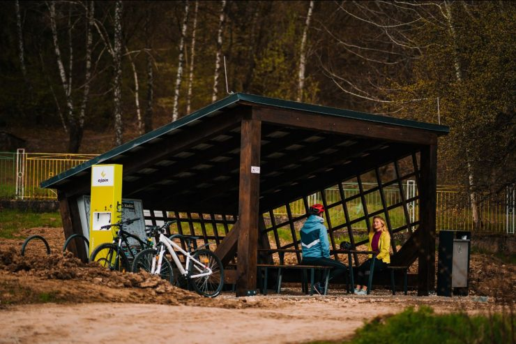 cyklisticke odpocivadla