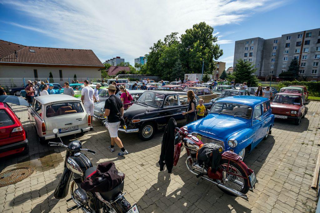 výstava historických automobilov